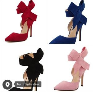 Shoes - Bow ties classy girl pumps